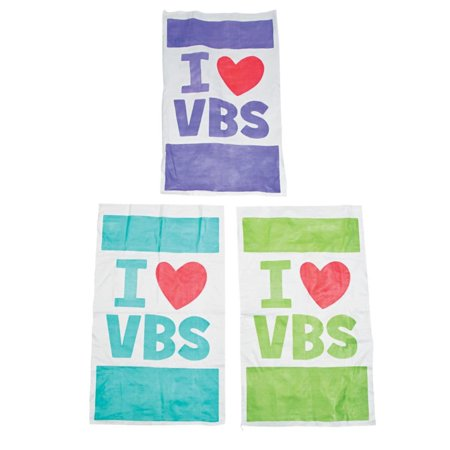 I Love VBS Potato Sack Race Bags - Sack Races