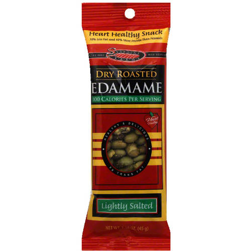 Seapoint Farms Lightly Salted Dry Roasted Edamame, 1.58 oz (Pack of 12)