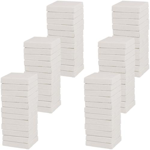 """US Art Supply 3"""" x 3"""" Mini Professional Primed Stretched Canvas 72-Mini Canvases"""