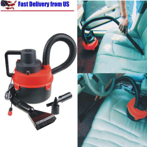 Portable Powerfull Mini Auto Car Vacuum Wet/Dry DC 12 Volt New