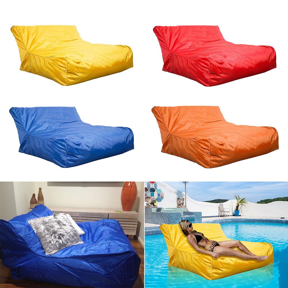 Tbest Swimming Pool Floating Bean Bag Cover Waterproof