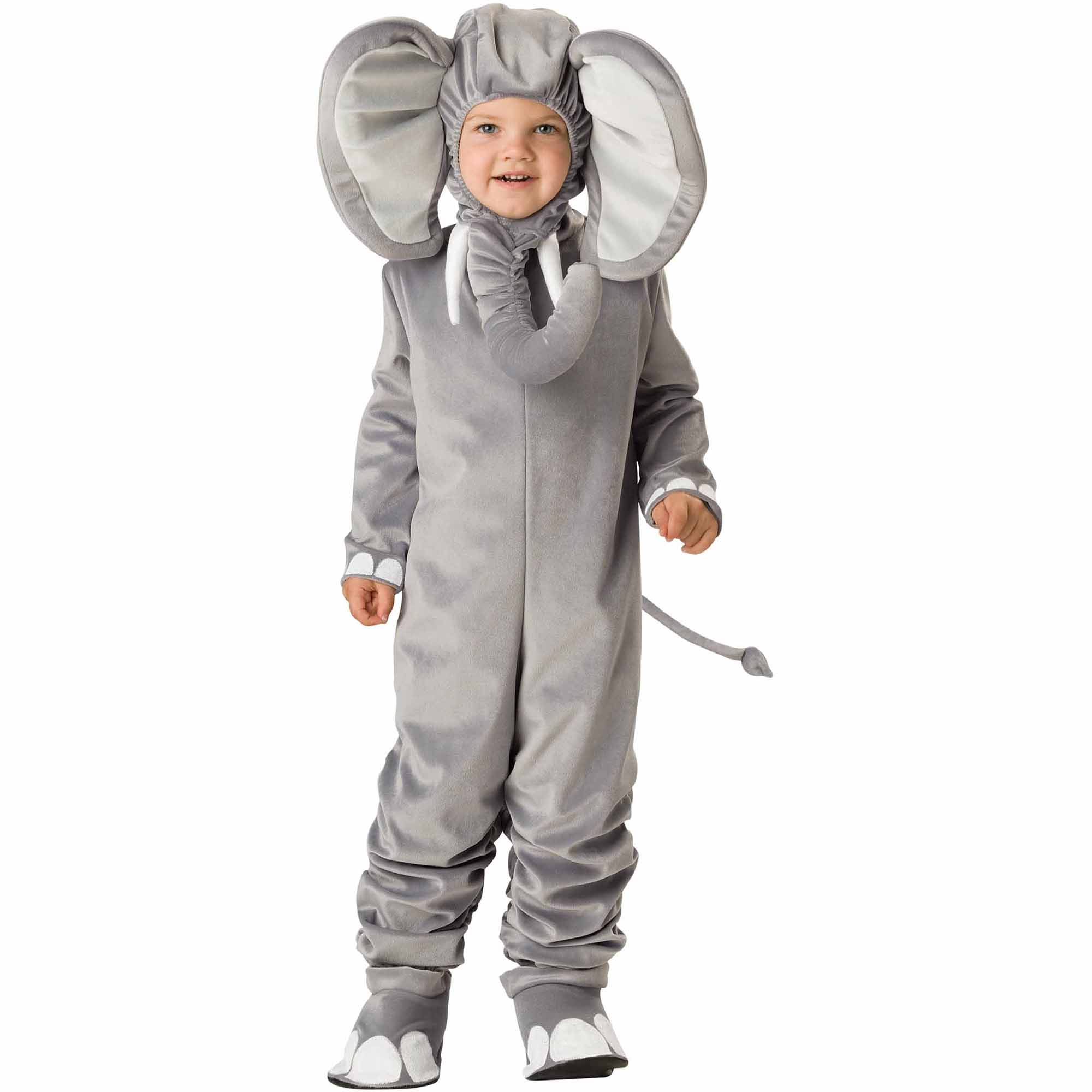lil' elephant toddler halloween costume - walmart