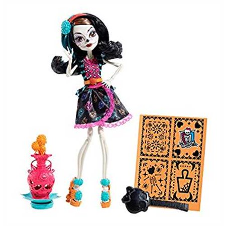 Monster High Skelita Calaveras Dress Up (Monster High Art Class Skelita Calaveras)