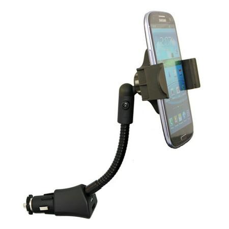 Car Mount Charger Plug Holder Compatible With LG Stylo 2 V Plus, Q7 Plus Q6, Premier LTE, Lancet, K8+ (2018), K8 V K7 K30 K20 V Plus, K10, G7 ThinQ G4 G3 Vigor, G Stylo Pad X II 8.0 Plus