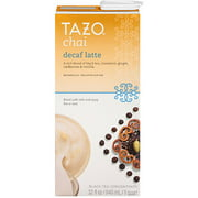 Tazo Decaf Chai Spiced Black Tea Latte Concentrate, 32 oz