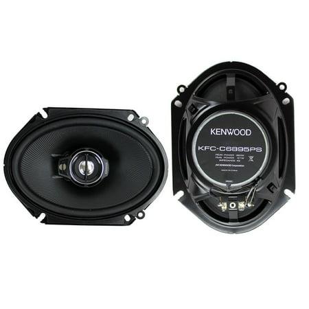 Kenwood Kfc C6895ps 6  X 8  3 Way Speaker System  250 Watts Max Power