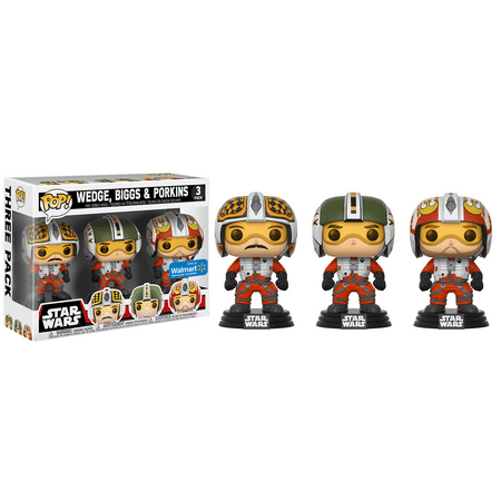 Funko POP! Star Wars: X-Wing Pilots 3-Pack