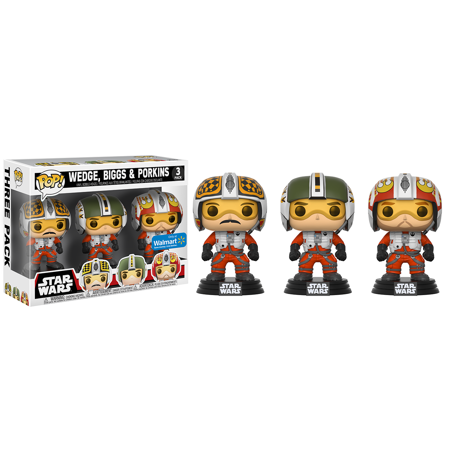Funko POP! Star Wars: X-Wing Pilots 3-Pack - 1980s Pop Stars