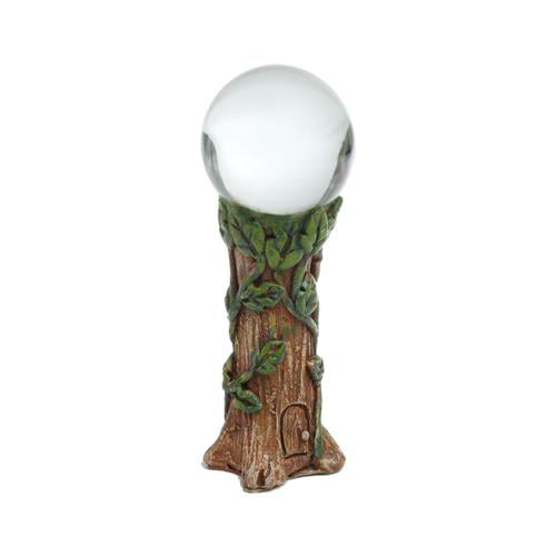 Fairy Garden Mystic Gazing Ball Miniature by MARSHALL HOME CORPORATION