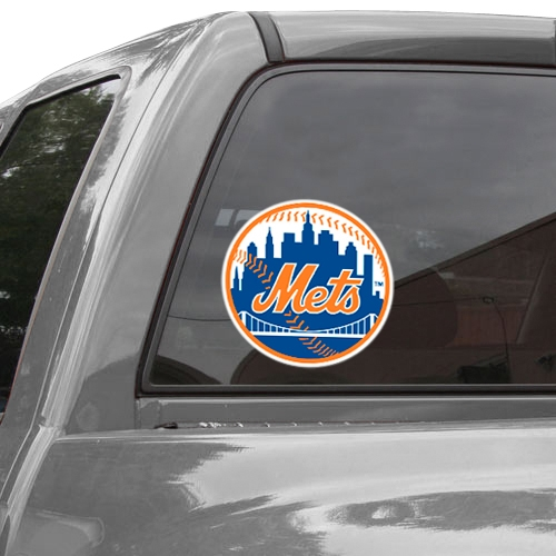 """WinCraft New York Mets 8"""" x 8"""" Color Team Logo Car Decal - No Size"""