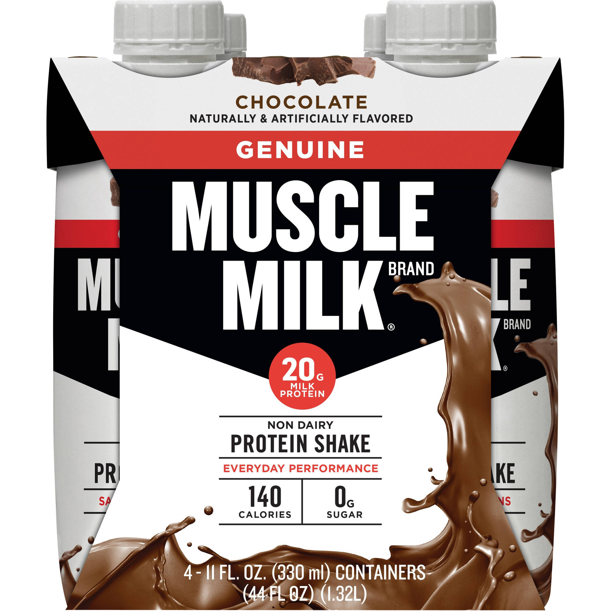 Genuine Muscle Milk Nutritional Chocolate Shake - 4 Ct
