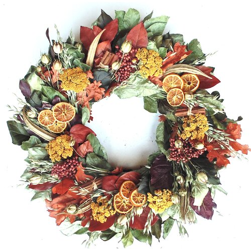 Dried Flowers and Wreaths LLC Wreath of Thanksgiving