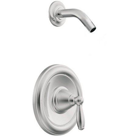 Moen T62152NH Brantford Single Handle Posi-Temp Pressure Balanced Shower Trim without Shower Head, Chrome