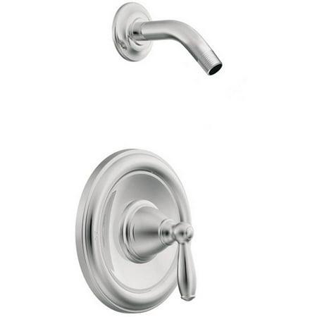 Moen T62152NH Brantford Single Handle Posi-Temp Pressure Balanced Shower Trim without Shower Head, Chrome