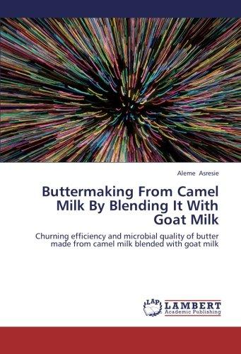 Buttermaking from Camel Milk by Blending It with Goat Milk by