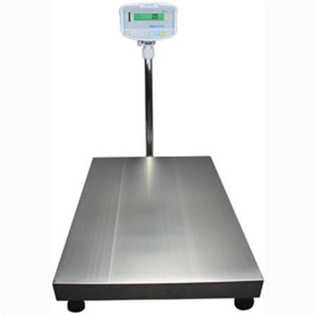 500 Lb Scales - ADAM EQUIPMENT GFK 330A Pltfrm Scale, SS Pltfrm, 150kg/330 lb. Cap