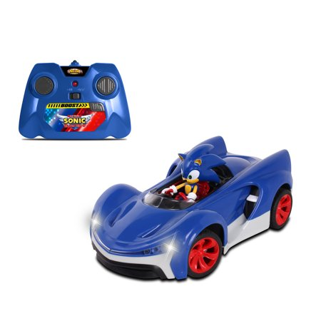 NKOK Sonic Team Racing Radio Controlled Sonic The Hedgehog w/ Turbo Boost (Sonic Halloween Racing)