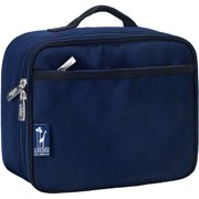 Wildkin Whale Blue Insulated Lunch Box for Boys and Girls