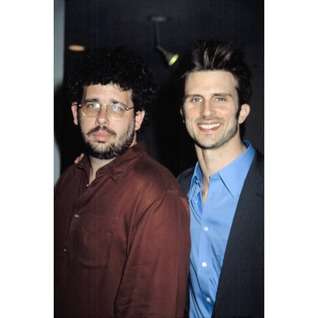 Neil Labute And Frederick Weller At The Shape Of Things Premiere Tribeca Film Festival Nyc 5072003 By Cj Contino Celebrity - Halloween Films Nyc