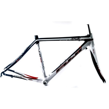 Carbon Fiber Road Bike >> Fuji Ccr 1 44cm 700c Carbon Fiber Road Bike Frameset Fork New