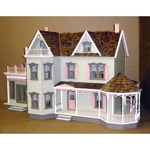 Real Good Toys Harborside Mansion Dollhouse Kit - 1 Inch Scale