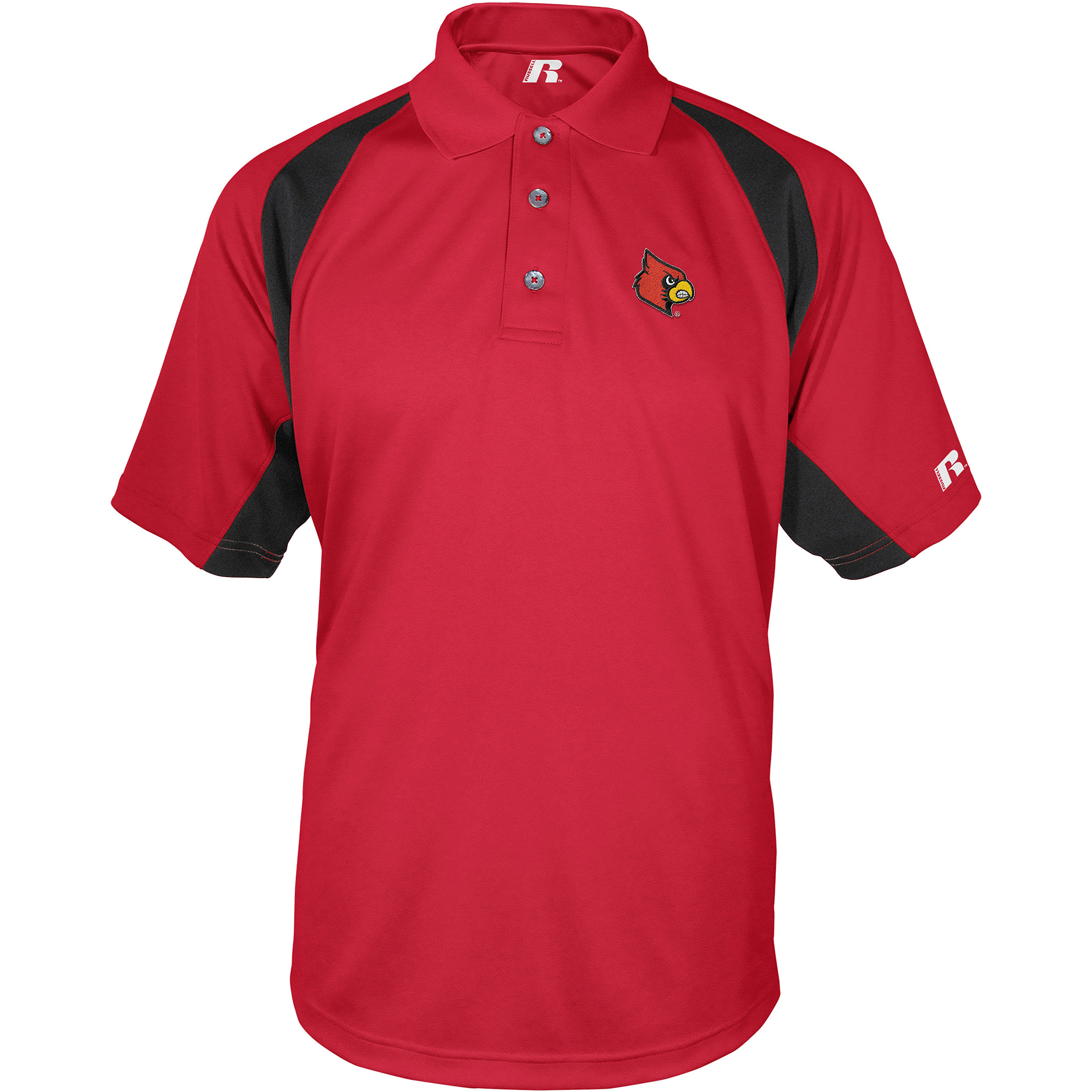 Russell NCAA Louisville Cardinals, Men's Synthetic Polo