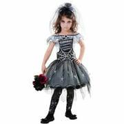 Goth Spider Bride Child Halloween Costume