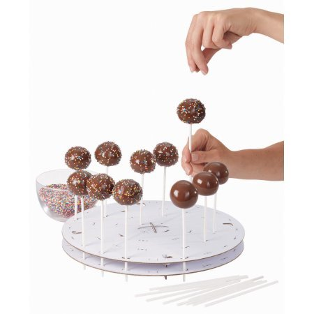 Wilton Cake Pops Decorating Stand - Holiday Cake Pops