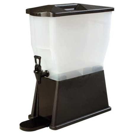CARLISLE 1085403 Beverage Dispenser,Single,3 Gal,Black
