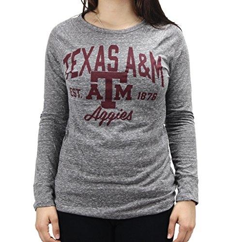 Pressbox Women' s NCAA Texas A&M Aggies Long Sleeve T-Shirt by