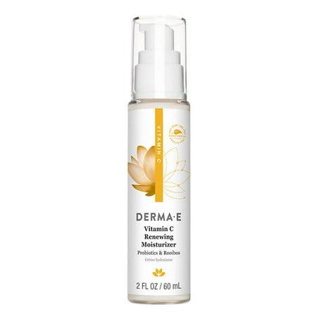 Derma E Vitamin C Renewing Face Moisturizer, 2 Fl Oz