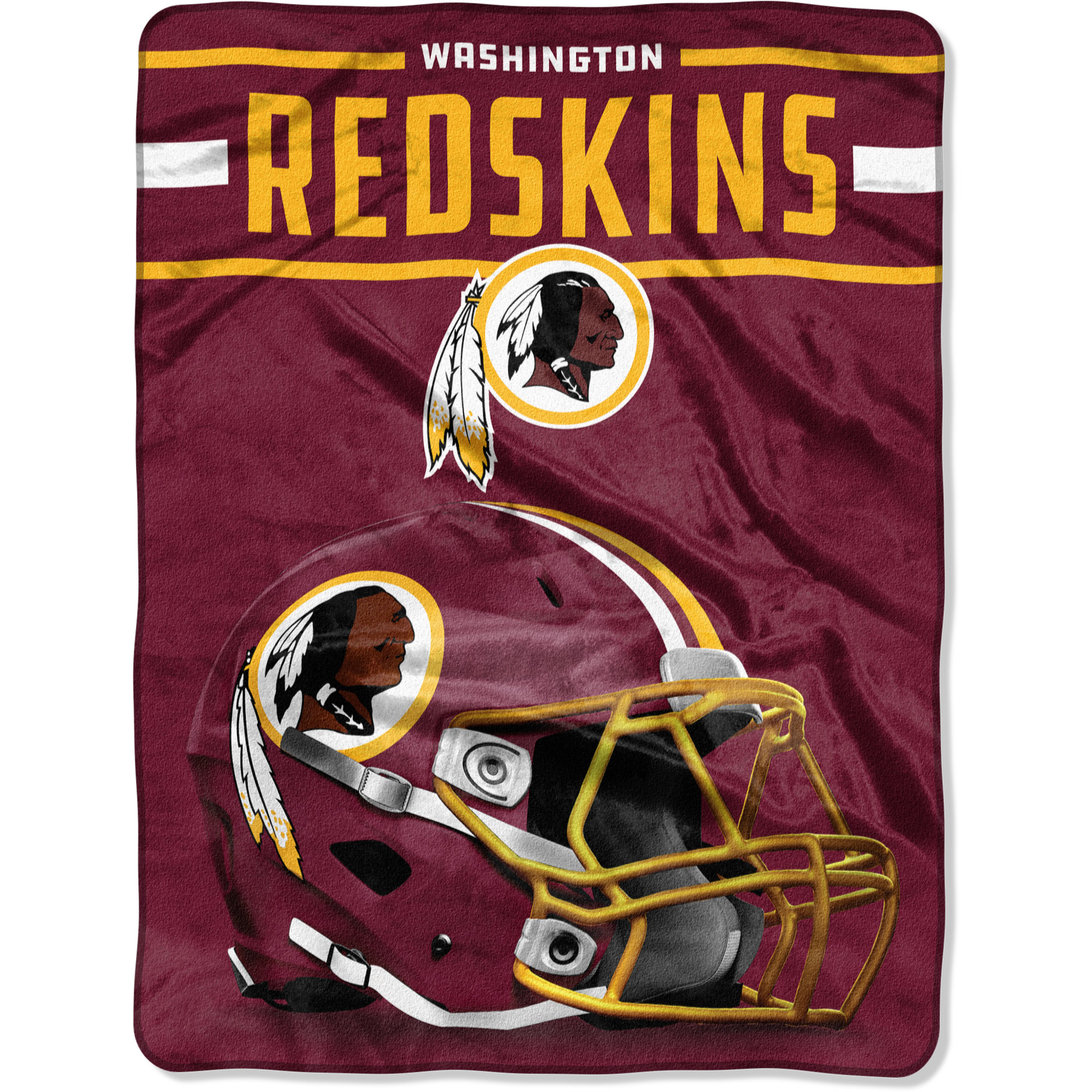 "Washington Redskins The Northwest Company 60"" x 80"" Jet Sweep Silk Touch Throw Blanket - No Size"