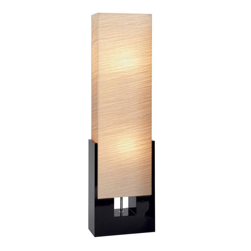 DecMode-WOOD FLOOR LAMP -MULTI COLOR by DecMode
