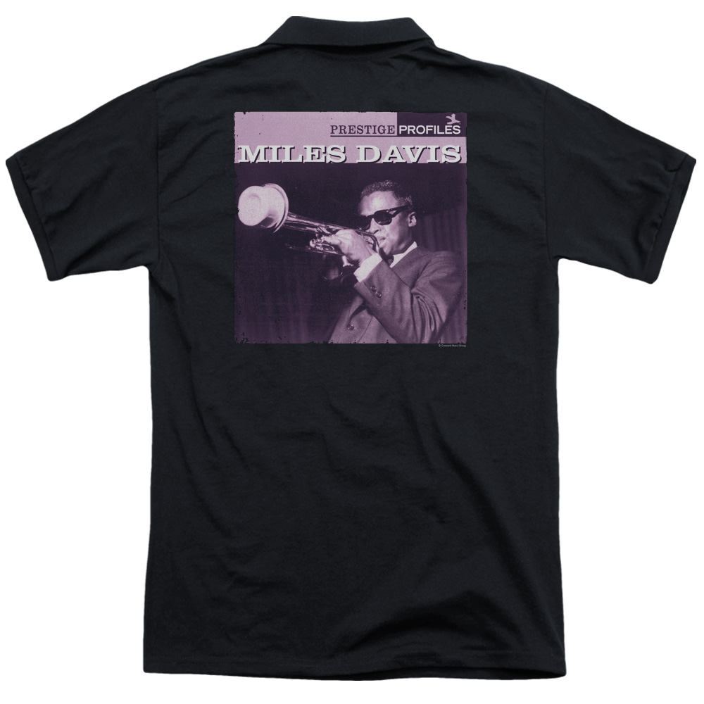 Miles Davis Prince (Back Print) Mens Polo Shirt