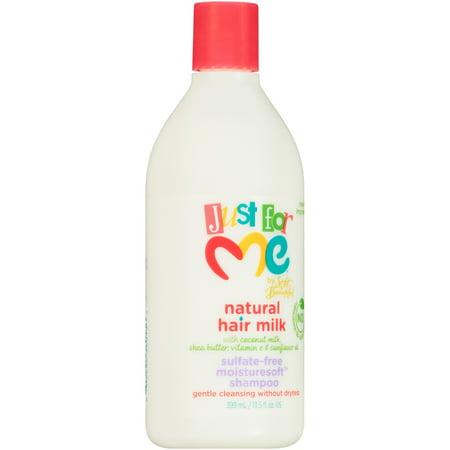 Just for Me Natural Hair Milk Sulfate-Free Moisturesoft Shampoo 13.5 fl. oz.