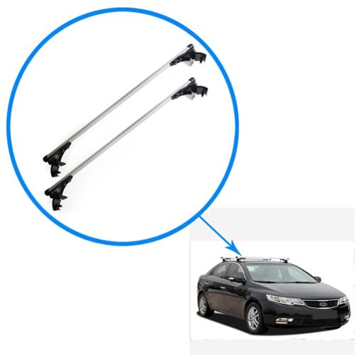 """2x 47"""" (120CM) Universal Car Top Luggage Cross Bar Roof Rack Carrier + 3 Kinds Clamp"""