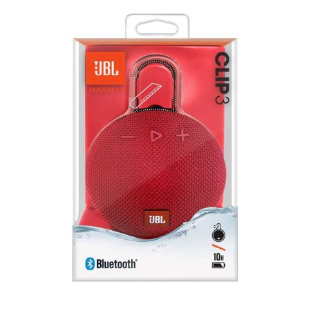 Jbl Clip 3 Portable Waterproof Wireless Bluetooth Speaker Yellow Walmart Canada