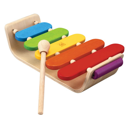 Oval Xylophone by Plan Toys