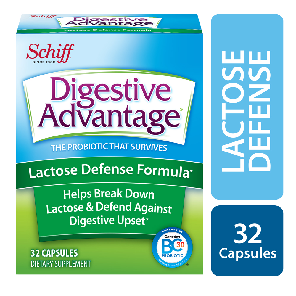 Digestive Advantage Lactose Defense, 32 Capsules