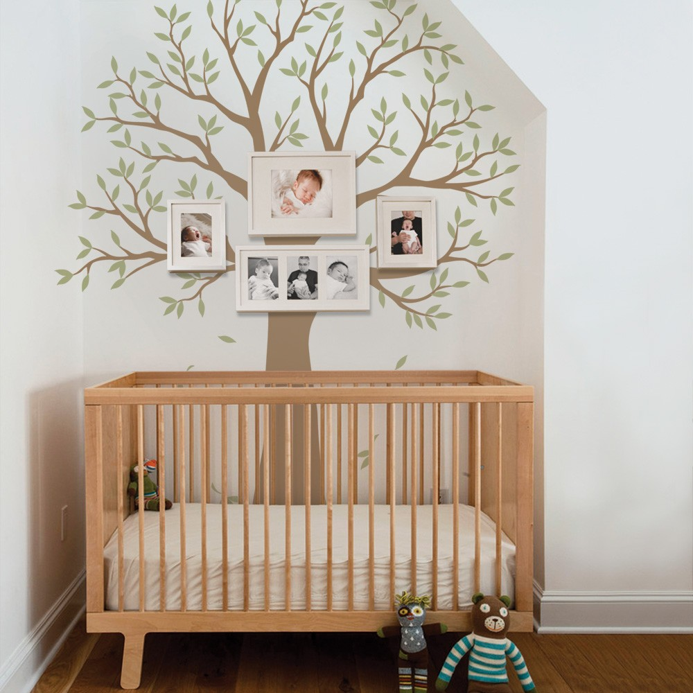 Narrow Family Tree Decal Two Colors Scheme B Walmart Com Walmart Com