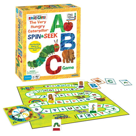 The Very Hungry Caterpillar Spin & Seek ABC Game (Abc Learning Game)