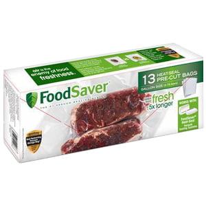 FoodSaver 13 Count Gallon Bags - Grab Bag Saber