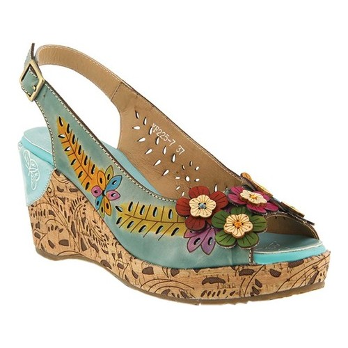 LArtiste by Spring Step Womens Style TUTTIFRUTTI Leather Sandal