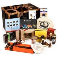 Chocolate Treasures of The World - Gourmet Gift Trunk (13 lbs of Delectables)