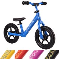 Eastern Pusher Ultralight and Adjustable Balance Bike for Ages 1 to 6 years old. Only 4.6 lbs (Blue)