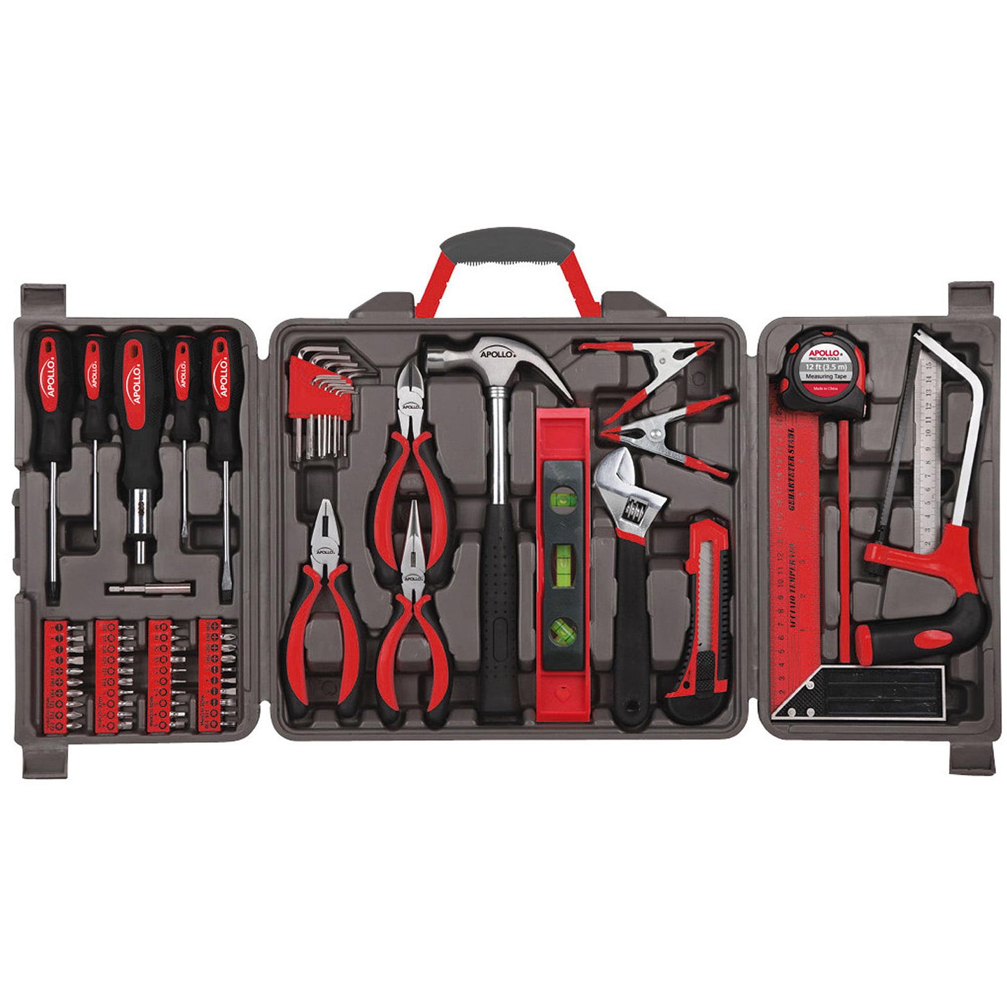 Apollo Tools 71-Piece Household Tool Kit