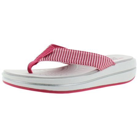 827ebf1cd57a Skechers - Skechers Upgrades Sailin Women s Thong Flip Flop Sandals Memory  Foam - Walmart.com