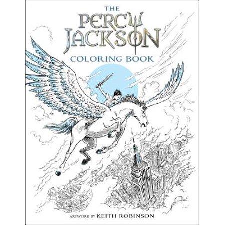 Percy Jackson and the Olympians The Percy Jackson Coloring (Elmo & Patsy Percy The Puny Poinsettia)