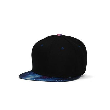 7be77b4020d39 TopHeadwear Galaxy Space Black Snapback Hat - image 1 of 2 ...