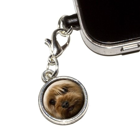 Yorkshire Terrier Yorkie Dog Mobile Phone Charm - No. 1